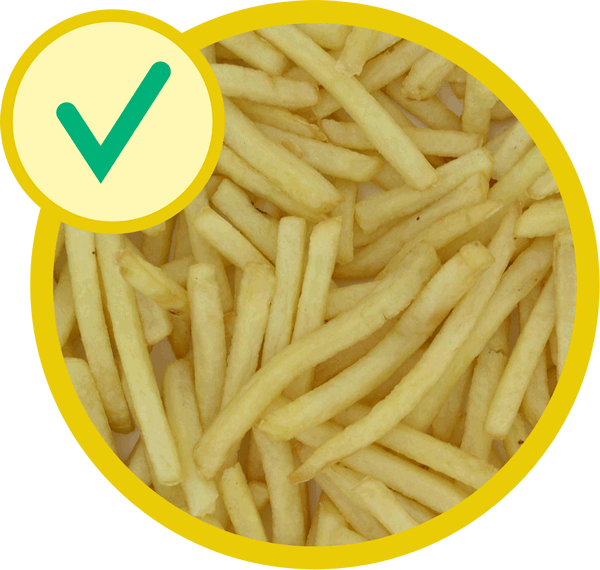 how to cook frozen french fries in a deep fryer